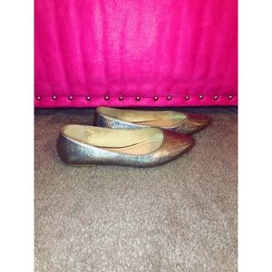 Old Navy - Holographic Pointed Toe Flats